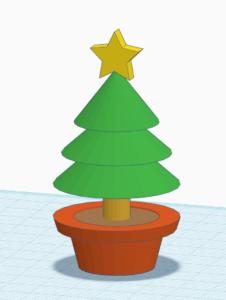 にかほ市3Dプリンタ特別企画 Tinkercadでクリスマスツリーを作ろう! @ 秋田県立大学本荘キャンパス