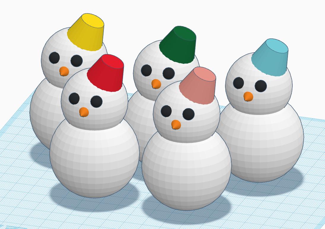 【終了しました】親子で体験! 3Dプリンターで「雪だるま」をつくろう! @ フェライトこども科学館