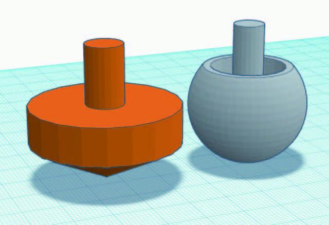 にかほ市3Dプリンター教室  親子で体験!3Dプリンターでコマを作ろう! @ フェライトこども科学館(多目的ギャラリー)